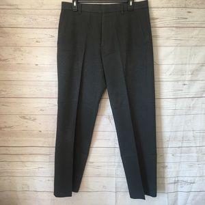 "Calvin Klein Gray Dress Pants Tailored 32"" x 29"""